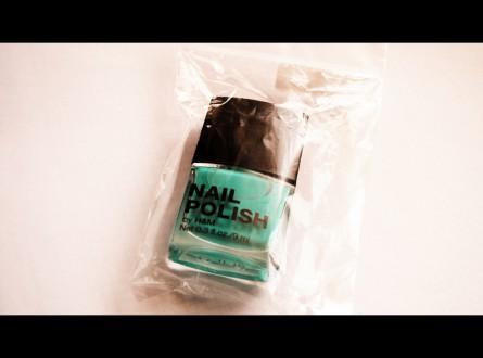 Miętowy lakier do paznokci H&M