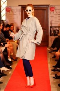 Pokaz mody wystąpienie o trendach wiosna lato 2012