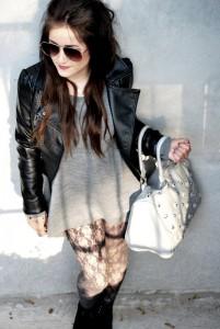 Asymetryczny sweter