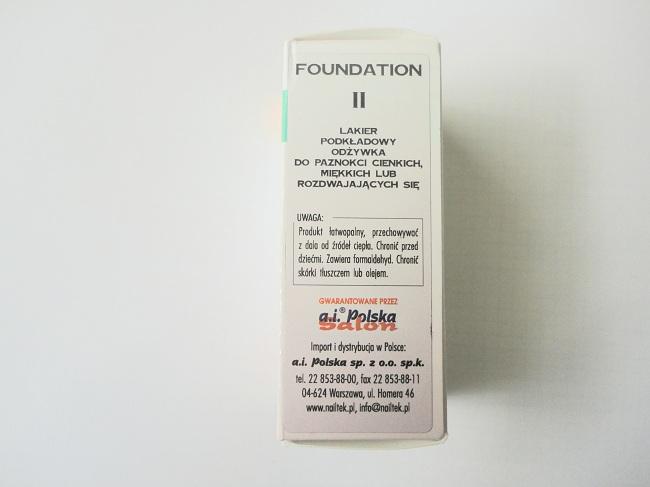 Nail Tek II Foundation odżywka do paznokci
