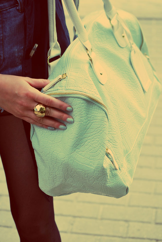 Miętowa torba