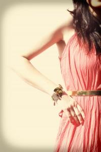 Bransoletka złota elegancka