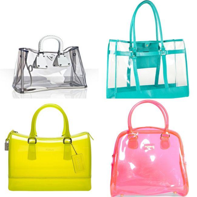 Przeźroczyste torebki