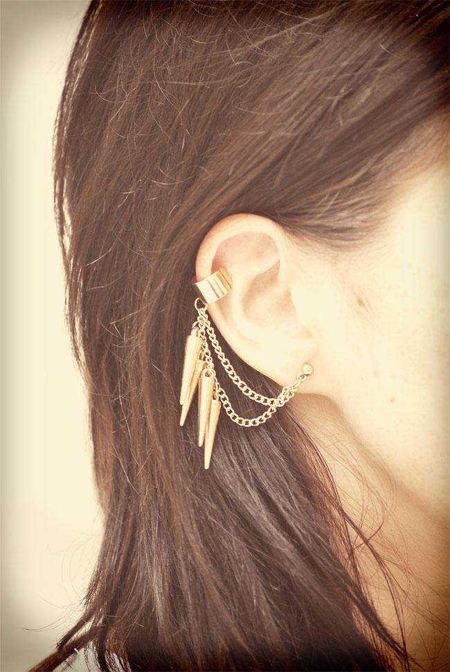 Ear cuff nausznica