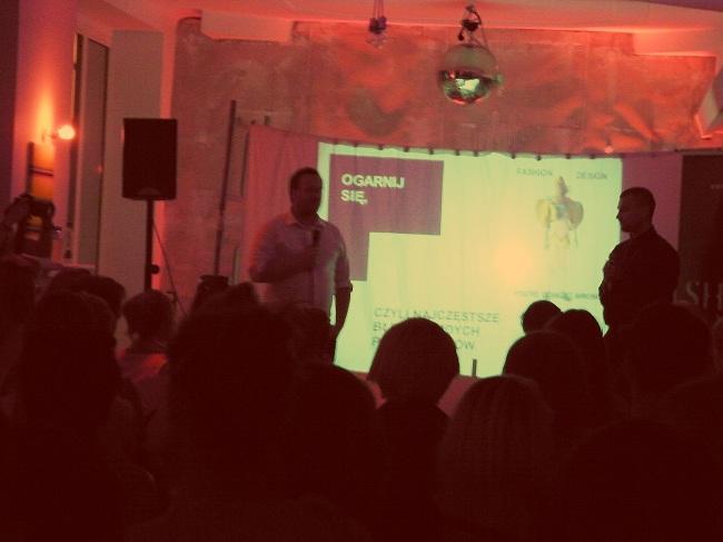 SHOWROOM Day & Night 7 sierpnia 2012 spotkanie z projektantami mody i blogerami