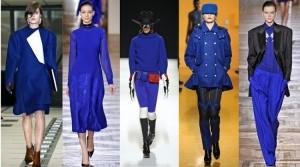 Trendy jesień zima 2012 kobalt niebieski