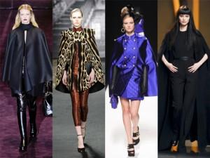 Trendy jesień zima 2012 peleryna