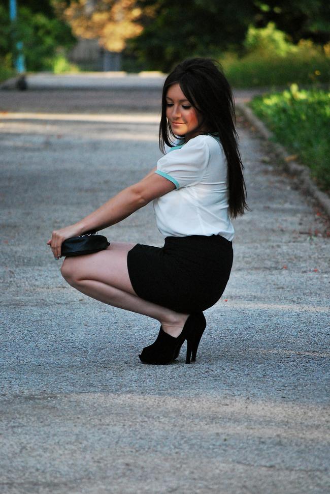 Bluzka z kołnierzkiem - Must Have Fashion Blog o modzie