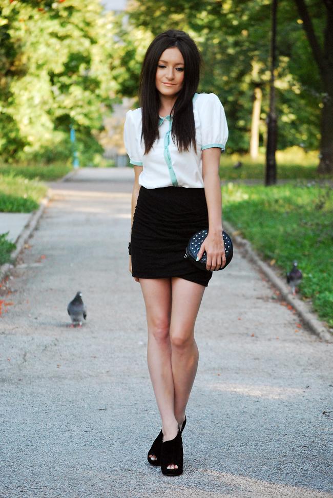 Bluzka z kołnierzykiem - Must Haev Fashion Blog o modzie