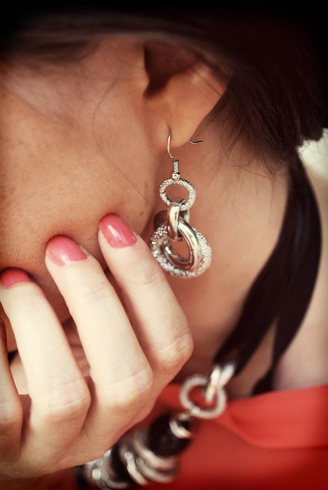 Srebrne kolczyki LANEVE biżuteria