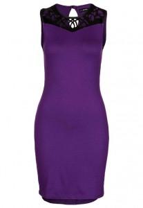 Sukienka na sylwestra fioletowa