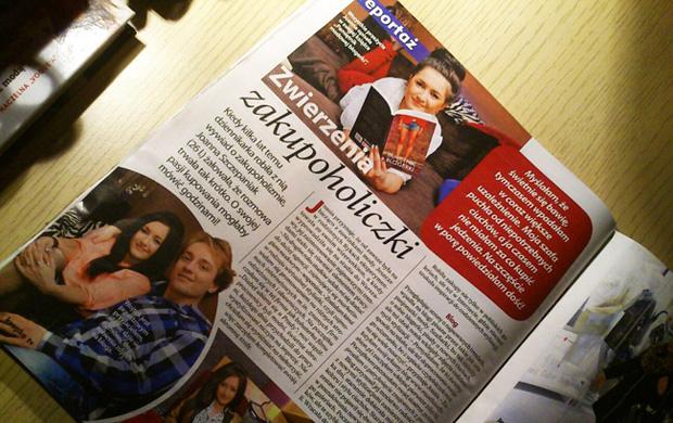 Wyznania zakupoholiczki wywiad w Kropka TV z Joanną Szczepaniak