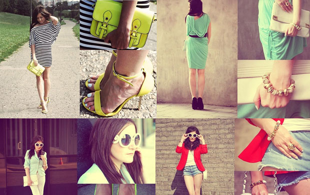 Najlepsze stylizacja z bloga Must Have Fashion MIX 2012