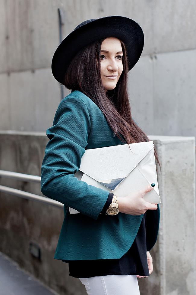 Biała torebka H&M