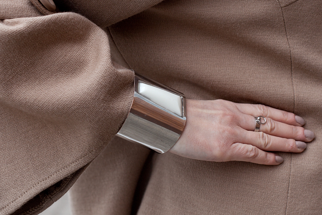 Bransoletka srebrna H&M