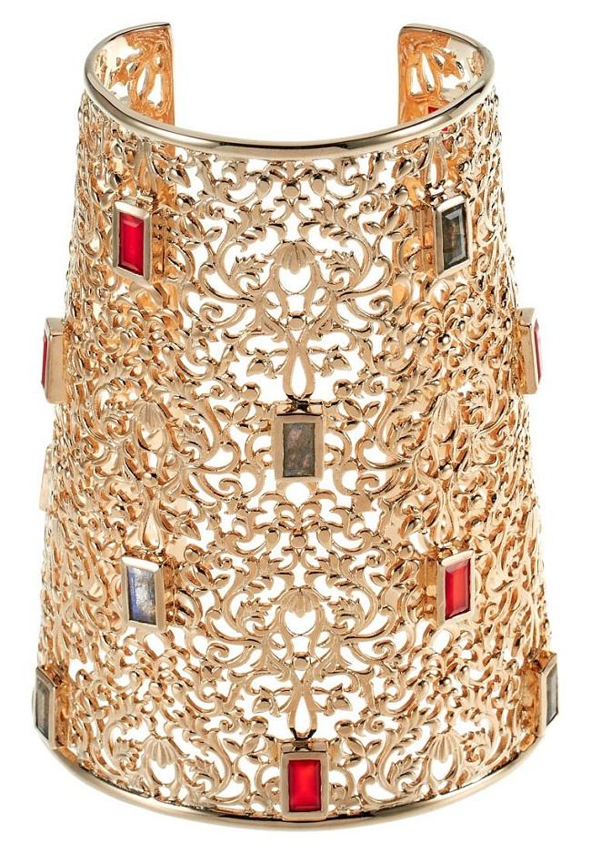 masywna biżuteria bransoleta