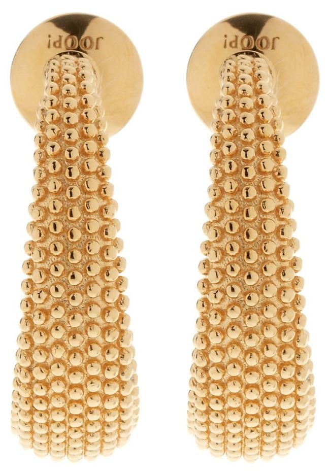 masywna biżuteria kolczyki złote