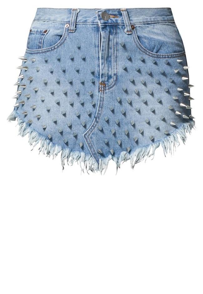 spódnica sprany jeans