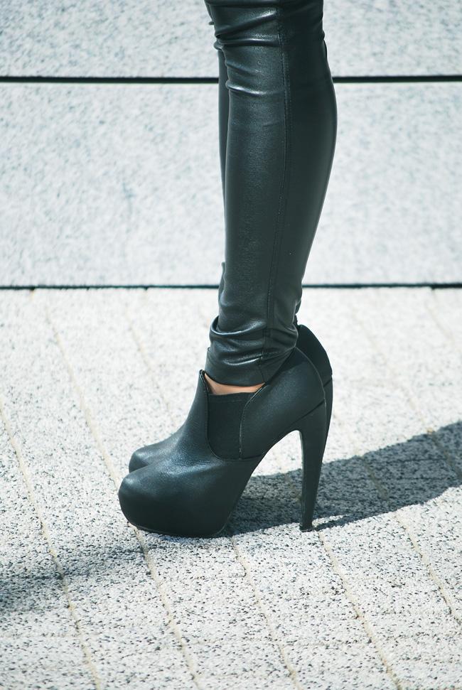 botki czarne