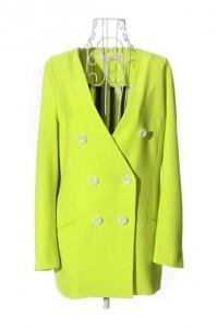 cytrynowy płaszcz