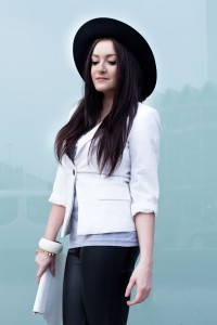 czarny kapelusz h&m