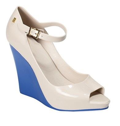 melissa biało niebieskie