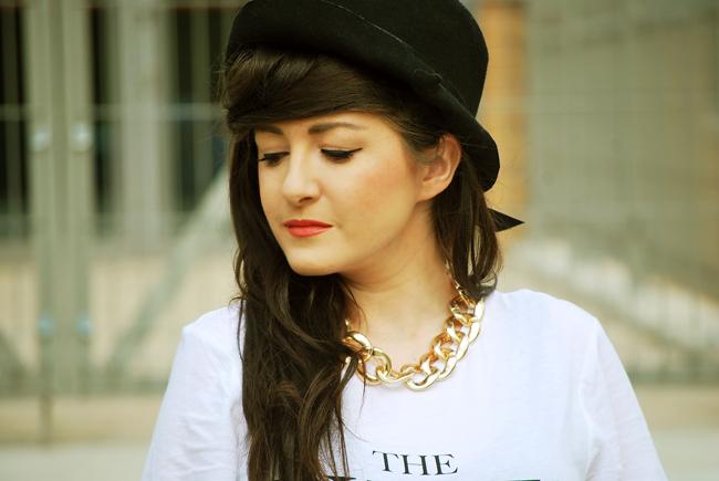 kapelusz czarny