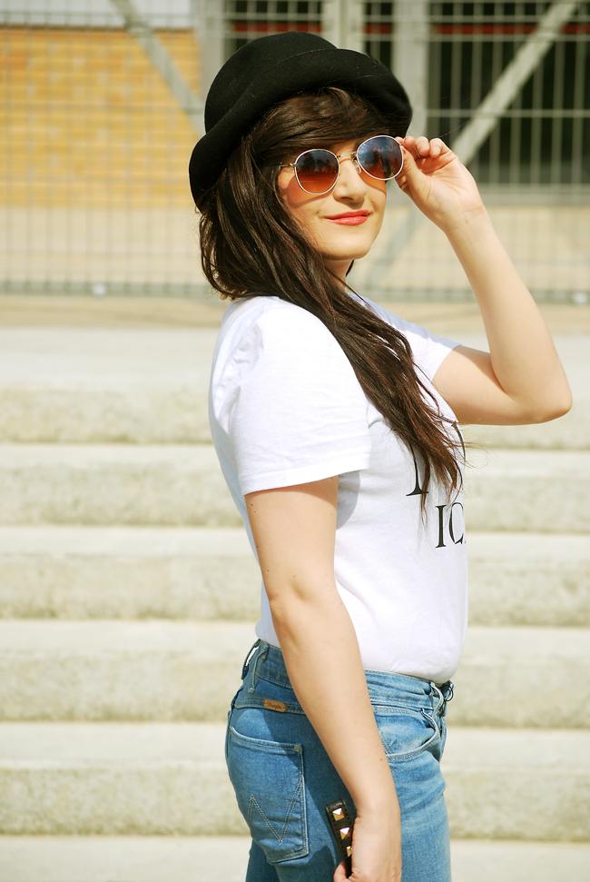 koszulka H&M biała