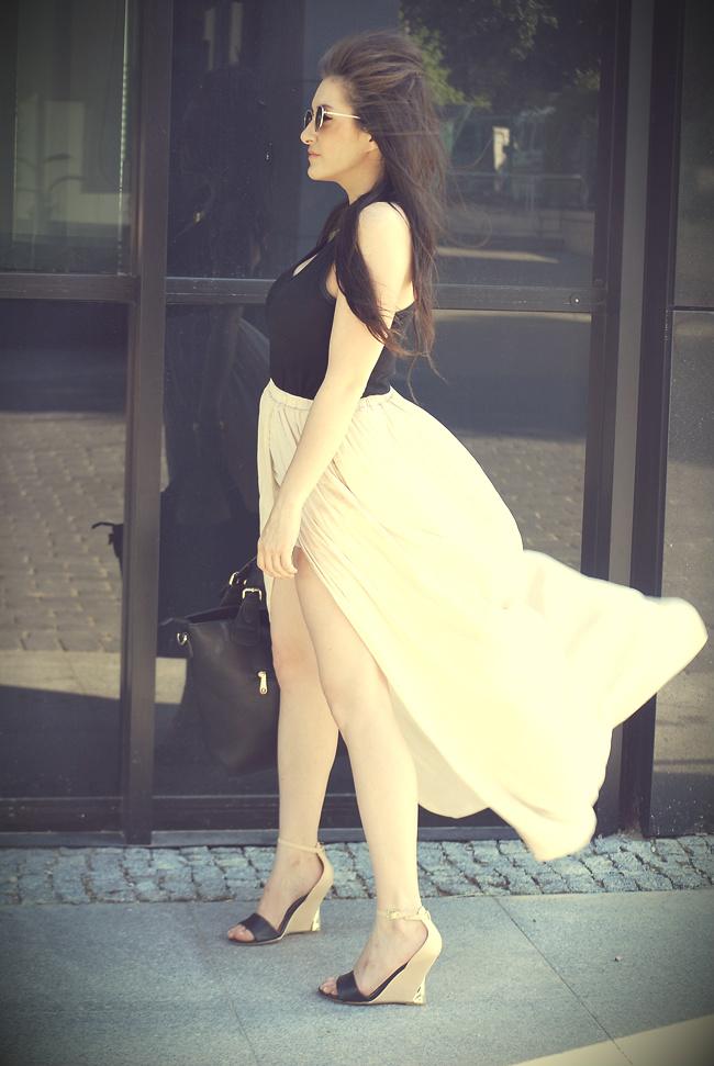spódnica plisowana zara