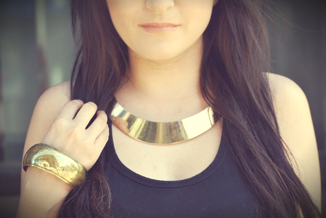 złote dodatki kolia złota