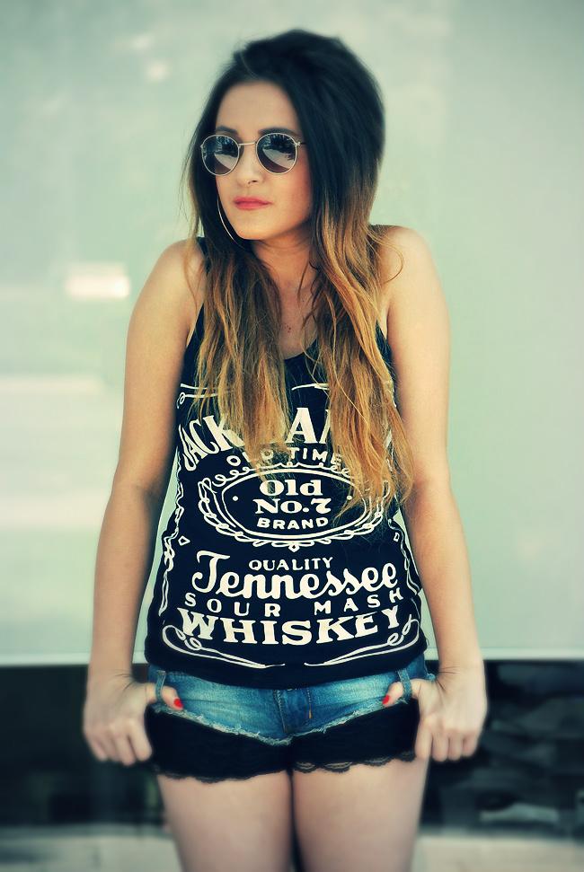 Koszulka Jack Daniels czarna