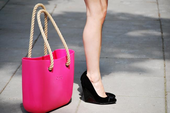 Różowa torba OBAG