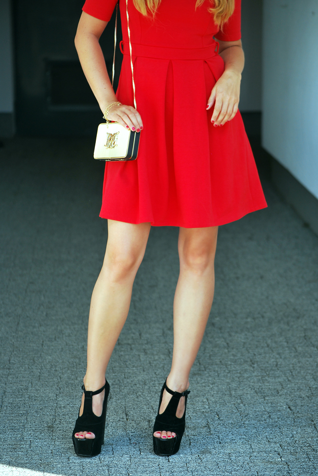 Sukienka czerwona