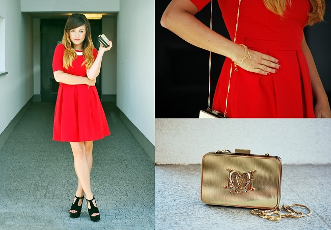 W czerwonej sukience blog
