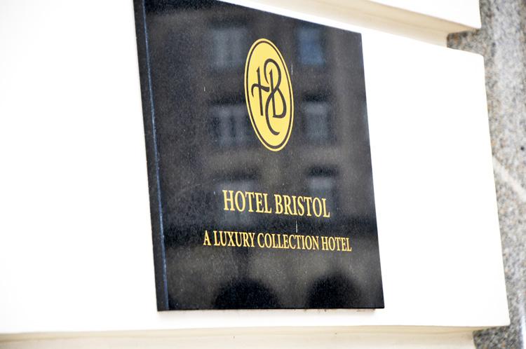 śniadanie blogerów hotel bristol