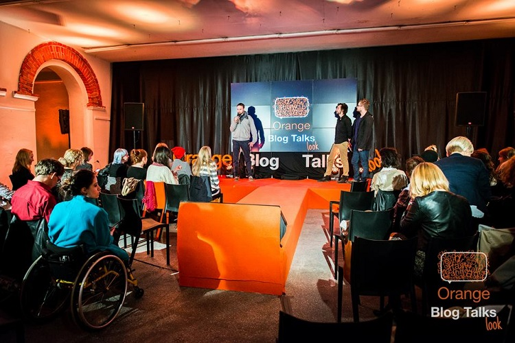 Orange blog talks look łódź