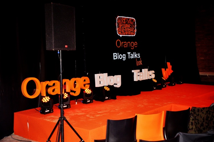 orange blog talks look