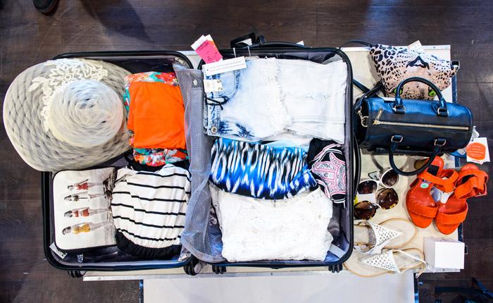 TK Maxx- suitcase challenge