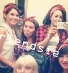 Akcja #friendsie na wieczorze panieńskim w stylu pin-up girl