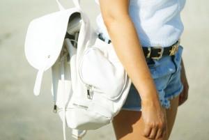 plecak biały