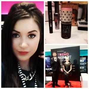 Makijaż kosmetykami marki Benefit