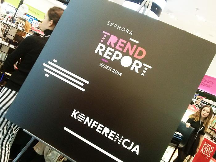Sephora Trend Report 2014 jesień