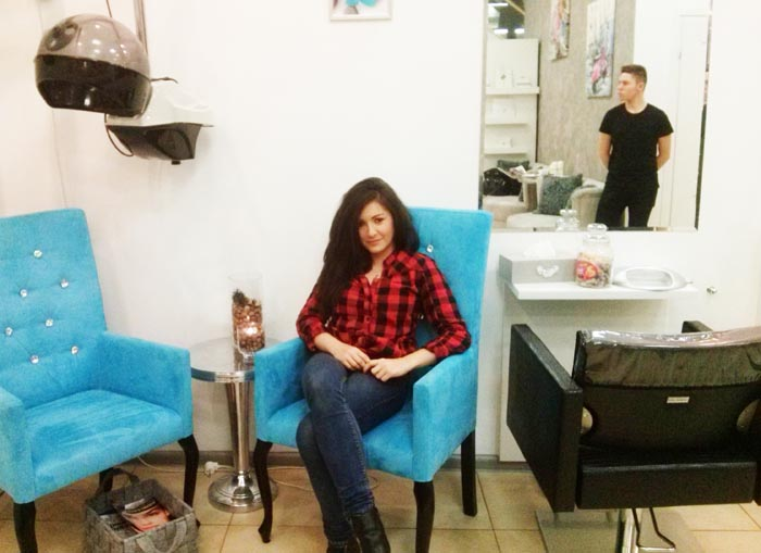 In Harmony salon metamorfoza