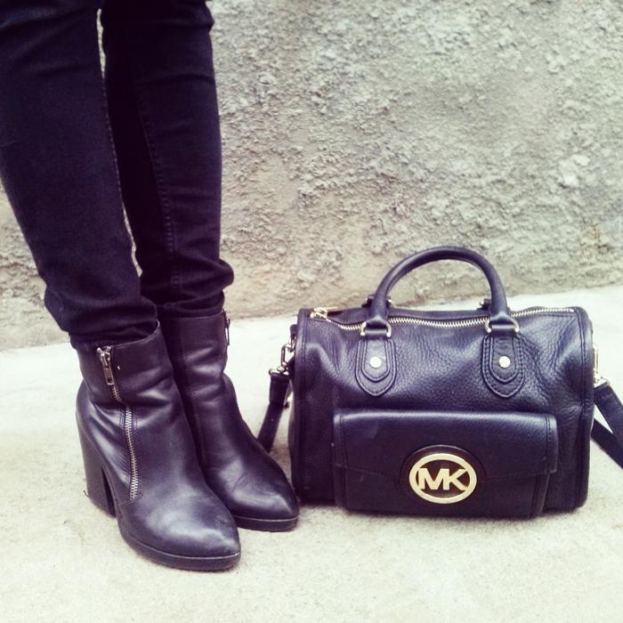 Michael Kors czarna torebka