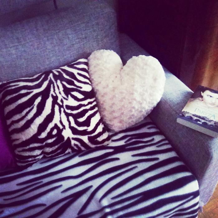 Poduszka w zeberkę