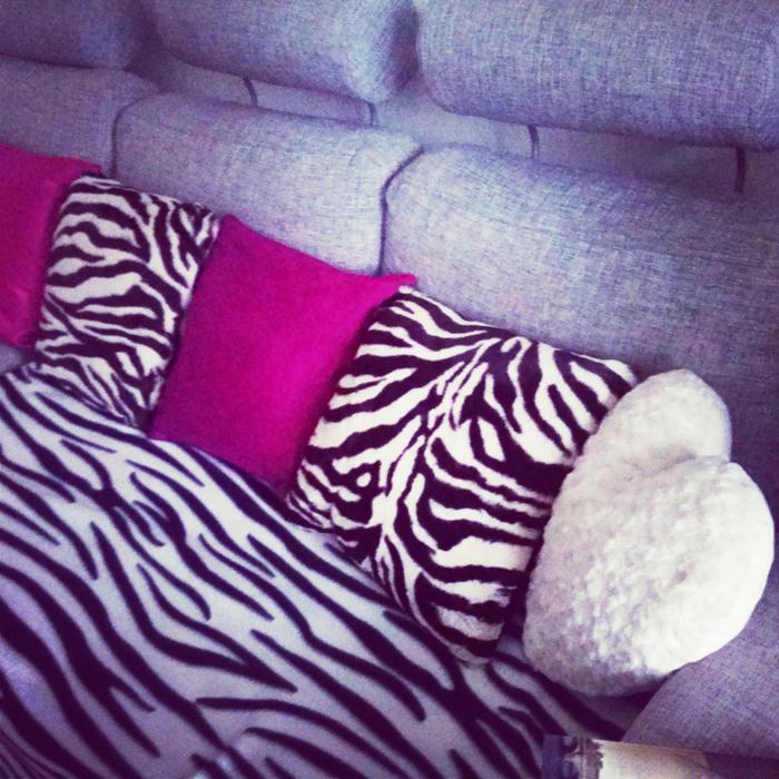 Sofa styl glamour
