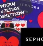 Walentynkowy konkurs z Sephora, 3 zestawy do wygrania