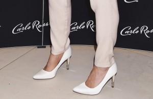 białe szpilki new look
