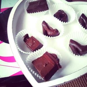 czekoladowe pralinki
