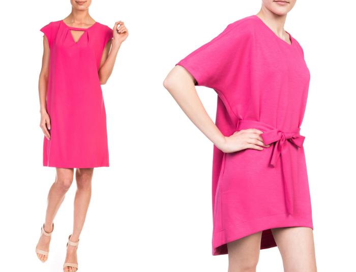 różowa sukienka 2015
